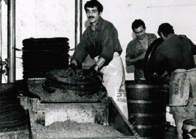 1973-MOULIN-DE-COUDOUX-enévement-des-grignons-sur-les-scourtins